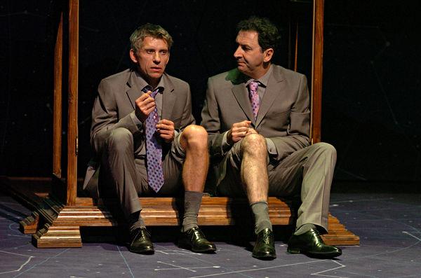 Jacques Gamblin et François Morel dans « Les Diablogues »