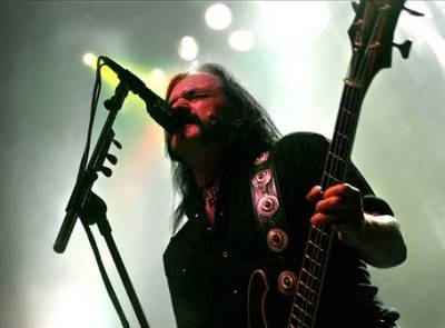 Lemmy Kilmister — Photo Robert Norgren, www.metallslave.com