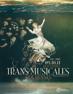 Trans Musicales 2010 - Affiche