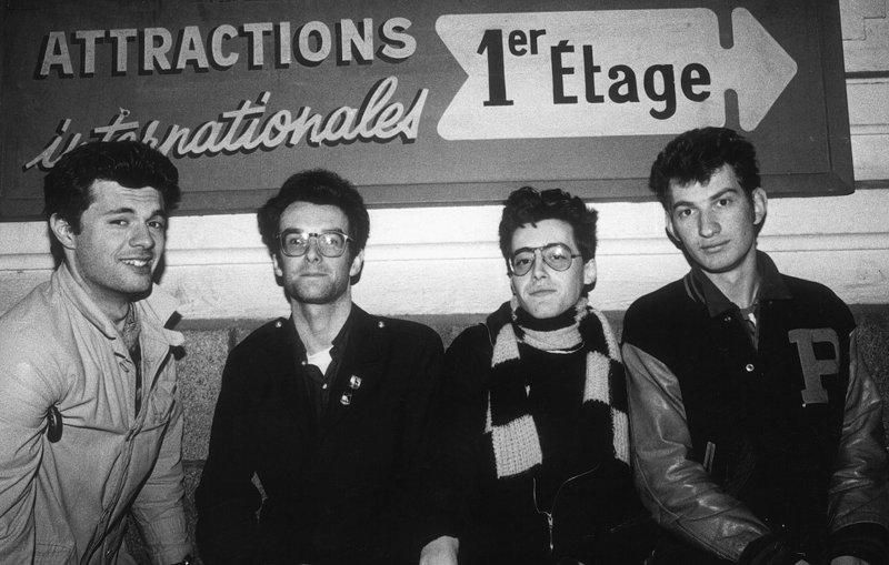 Ticket, groupe emblématique des années 1970 à Nantes — photo Nicolas de la Casinière