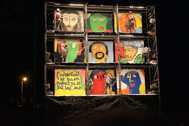 Art Rock 2011 — « Page blanche », de la Compagnie Luc Amoros — photo Loïc Ballarini
