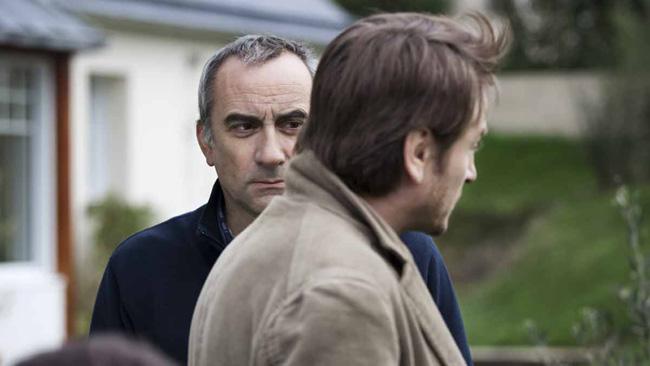 Antoine Duléry et Benoît Magimel dans « Des vents contraires »