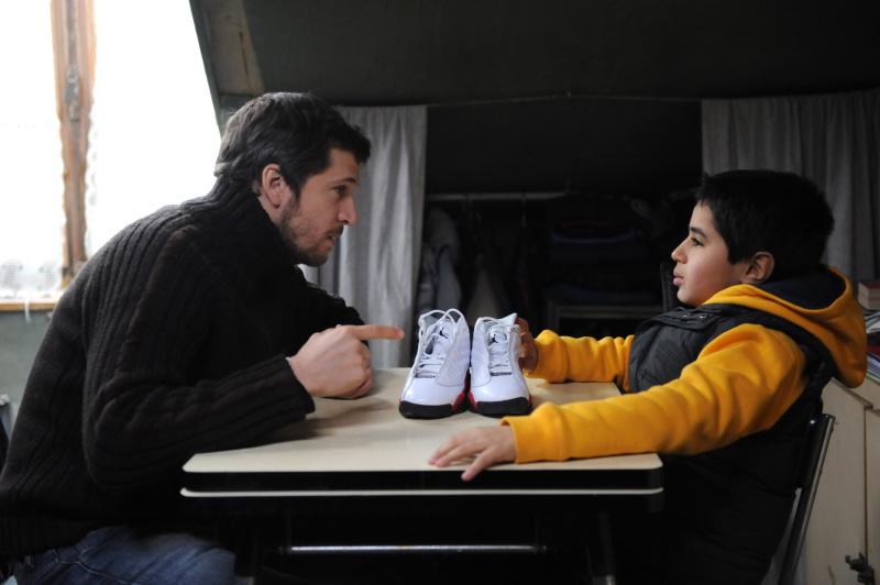 Guillaume Canet et Slimane Khettabi dans « Une vie meilleure »