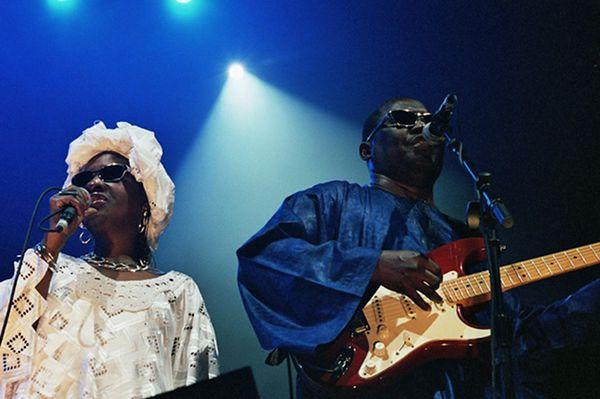 Amadou et Mariam — Photo Marie Dagnaux