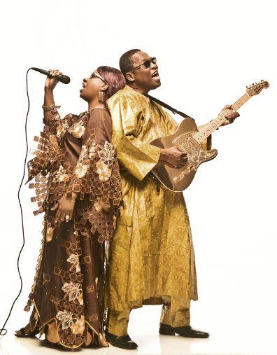 Amadou et Mariam par Youri Lenquette