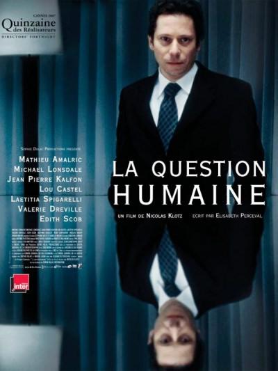 « La question humaine » - affiche
