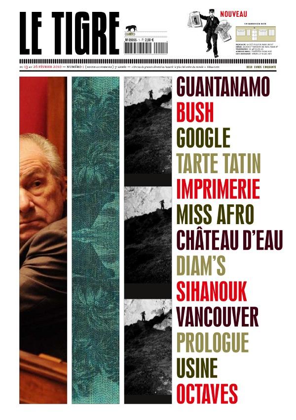 « Le Tigre », numéro 1 (13-26 février 2010)