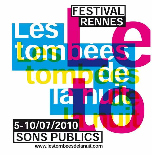 Les Tombées de la Nuit 2010 — logo