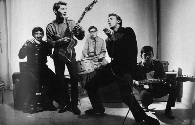 Les Spirales, un des premiers groupes rennais, fondé en 1961 (photo S. Michalowski)