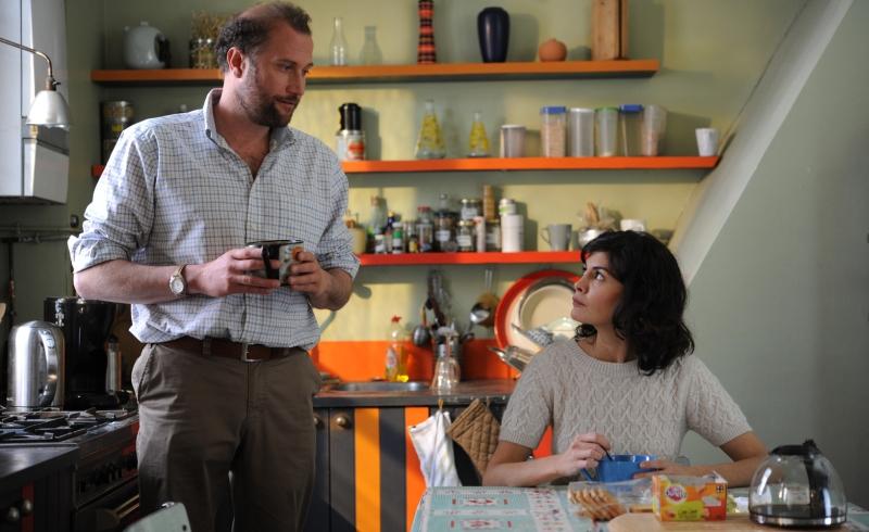 Audrey Tautou et François Damiens dans « La Délicatesse »