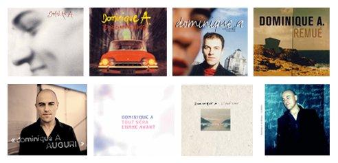 Les 8 albums de Dominique A sont réédités en doubles CD remastérisés accompagnés de chansons inédites ou rares